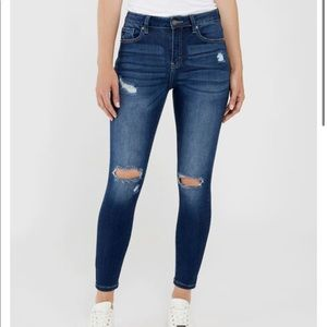 KANCAN High Rise Skinny Jeans